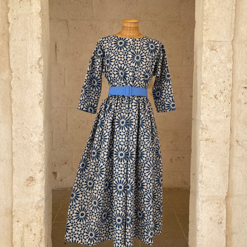 Luisa Dress in Blue