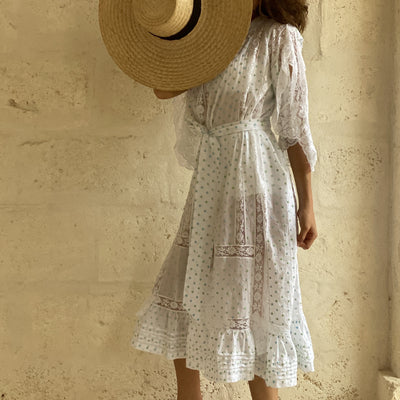 St.Tropez Dress Soler x Bottega Egnazia