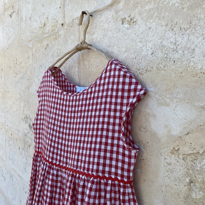 Barbara Short Dress Gingham