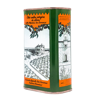 Extra Virgin Olive Oil Box 3 Litres (6 x 0,5L)
