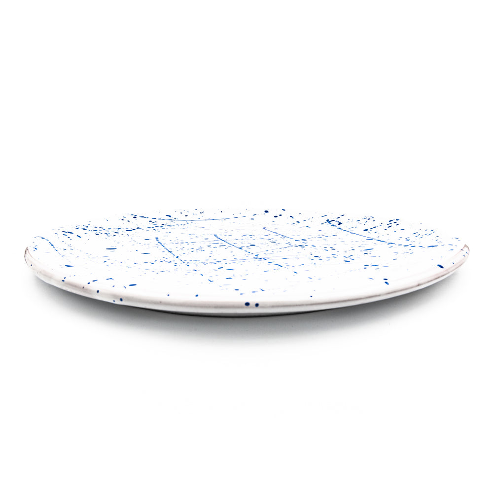 Pizza Set White & Blue