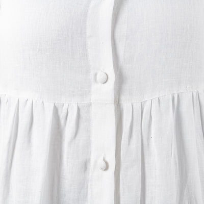 Camilla Dress White