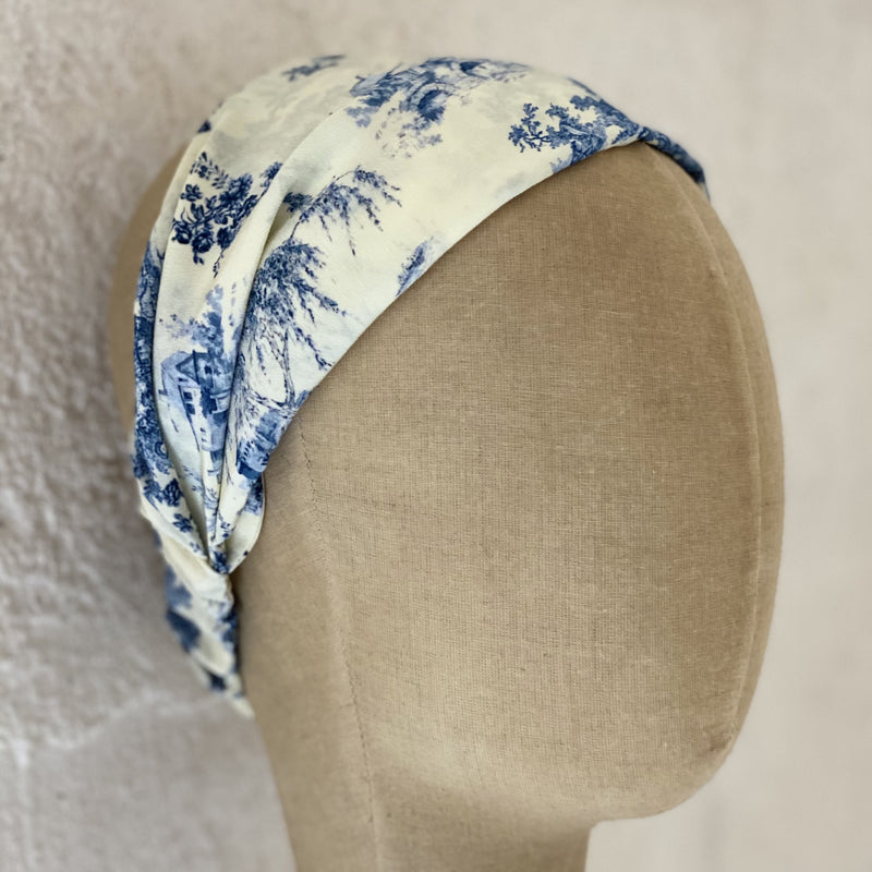 Silk Toile Headband