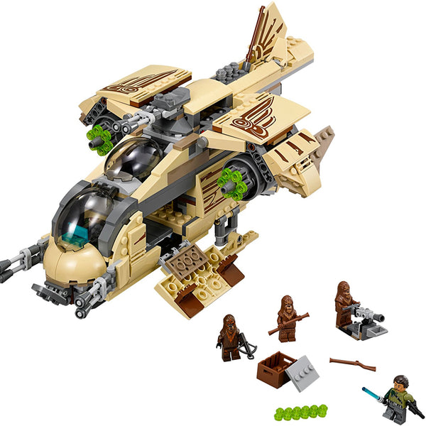 Star Wars Wookiee Gunship Blocks