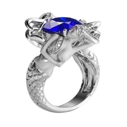 Creative Mermaid Artificial Finger Ring