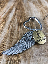 Load image into Gallery viewer, Blessed Wing Keychain