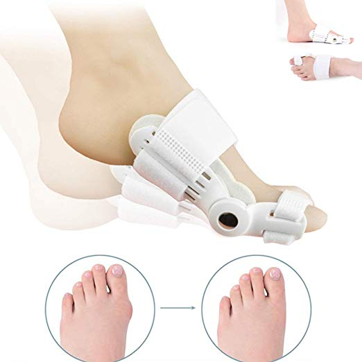 Big Toe Bunion Straightener Splint Corrector White