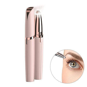 Portable Electric Painless Eyebrow Hair Trimmer Remover
