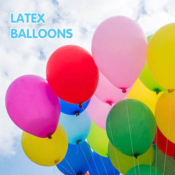 100pc Latex Plain Color Ballons Helium Or Air Use for Party Celebrate
