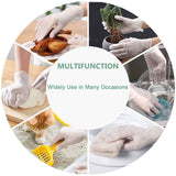 100pcs Disposable Thick PVC Powder-Free Protective Vinyl Gloves