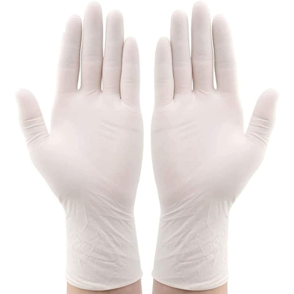 100pcs Protective Thick Rubber Latex Disposable Gloves