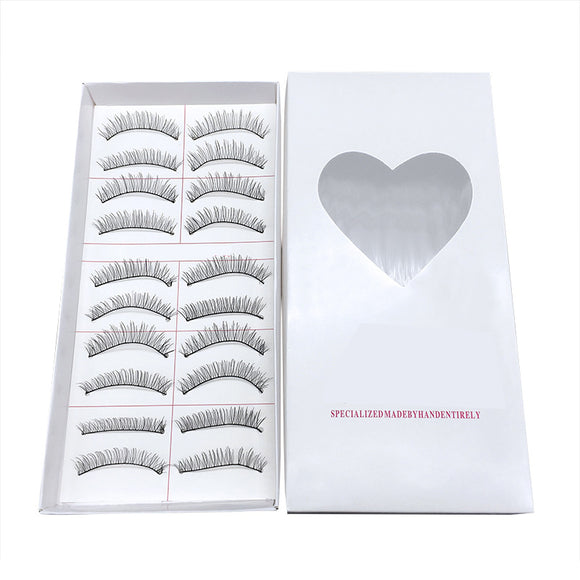 3boxes/30pairs Long Thin Natural Soft False Eyelashes