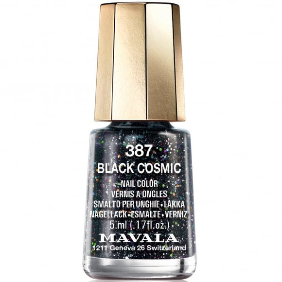 Mavala Cosmic Nail Polish Collection - Black Cosmic (387) 5ml