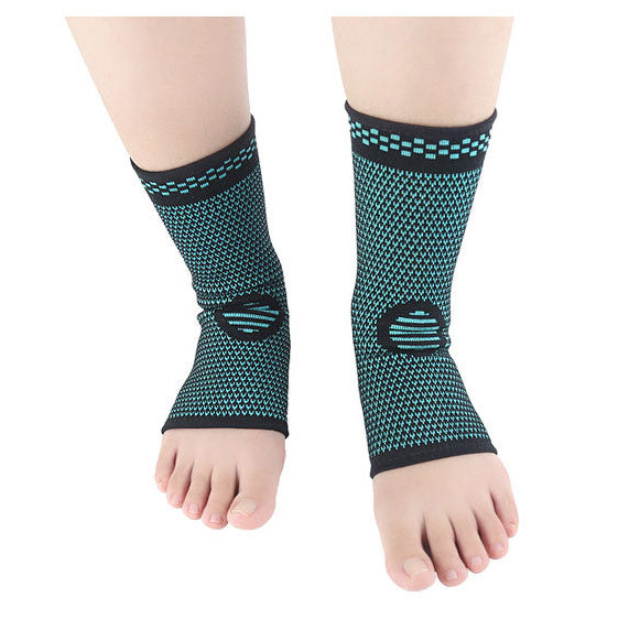 2pcs Ankle Brace Compression Foot Support Sleeve - Green