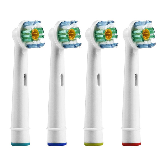 Compatible Replacement Toothbrush Heads Refill for Oral-B Electric Pro 3D White