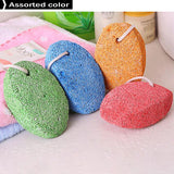 2pcs Natural Earth Lava Pumice Stone for Foot Callus Removal