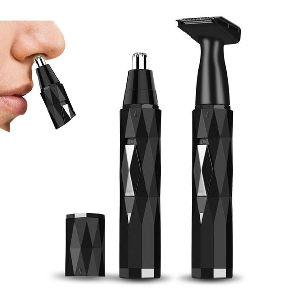 2 in 1 USB Rechargeable Nose Hair Trimmer