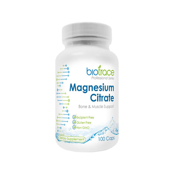 BioTrace Magnesium Citrate 100 Vegecaps