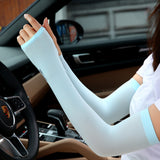 4pcs Icy Cooling Arm Sleeves Unisex UV Protection