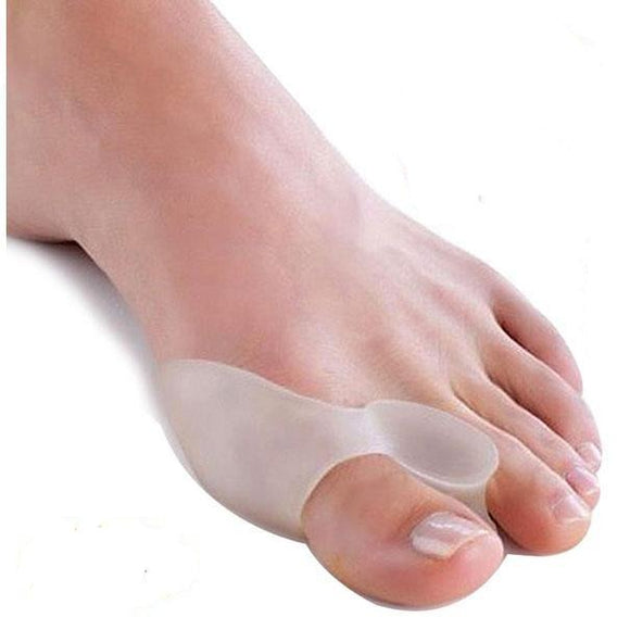 4pcs Silicone Gel Bunion Splint Big Toe Separator Corrector
