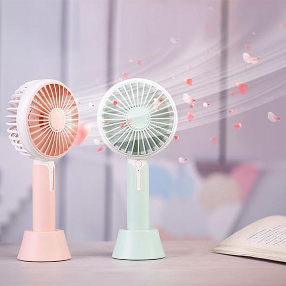 Aromatherapy Mini Handheld Cooling Fan