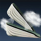 2 Pairs Unisex Breathable Memory Foam Height Increase Shoes Insoles