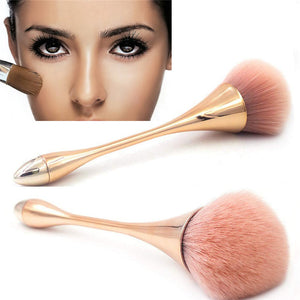 2pcs Big Fluffy Powder Foundation Makeup Brush