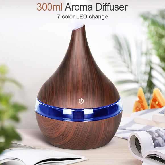 300ml USB Electric Aroma Air Diffuser Ultrasonic Humidifier