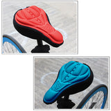 3D Gel Bicycle Seat Covers Bike Cycling Cushion Pad Soft Saddle Cover