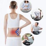 3D Lower Back Lumbar Support Pillow Waist Sciatic Pain Relief Cushion