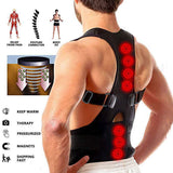 Adjustable Magnetic Therapy Posture Corrector Brace Shoulder Back Support Belt