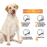 Adjustable Flea and Tick Prevention Collar for Dogs & Cat