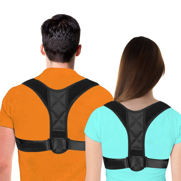 Adjustable Posture Correct Brace Back Straightener for Men Women
