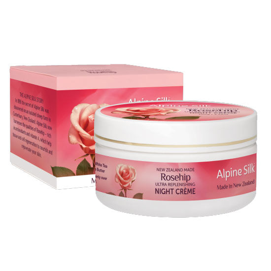 Alpine Silk Rosehip Ultra Replenishing Night Creme 100g