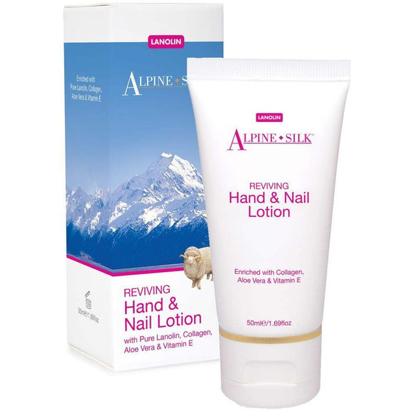 Alpine Silk Reviving Hand & Nail Lotion 50ml