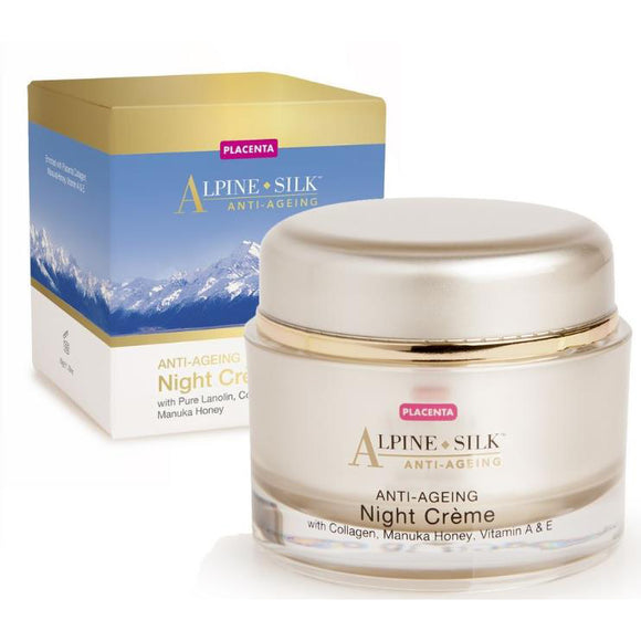 Alpine Silk Anti-Aging Night Creme 50g