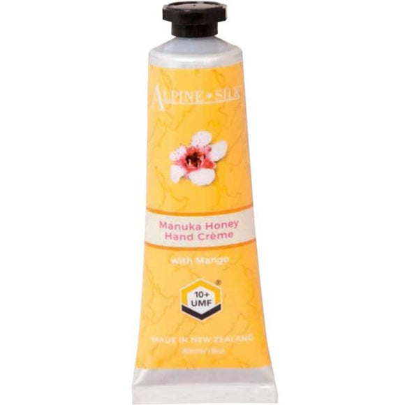Alpine Silk Manuka Honey Hand Creme 30ml