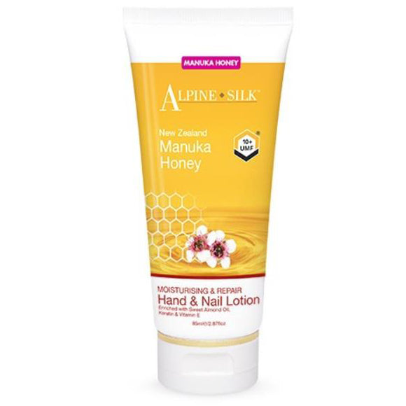 Alpine Silk Moisturising & Repair Hand & Nail Lotion 85g