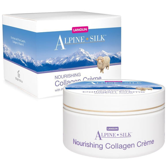 Alpine Silk Nourishing Collagen Creme 250g