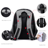 Anti Theft Large Capacity Laptop Backpack with USB Charging Port