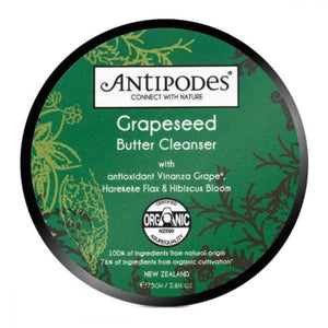Antipodes Grapeseed Butter Organic Cleanser - 75mL