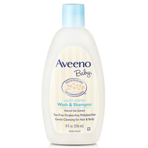 Aveeno Baby Wash & Shampoo 236Ml Natural