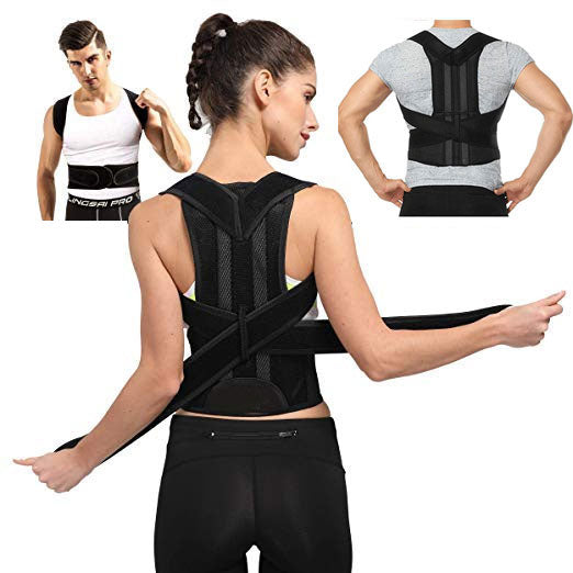 Back Brace & Shoulder Support Trainer Posture Corrector for Women & Men
