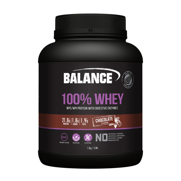 Balance 100% Whey Protein Chocolate 1.5kg