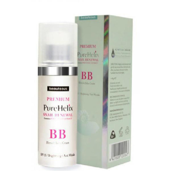 Beauteous PureHelix Snail Renewal BB Cream SPF 15 40g