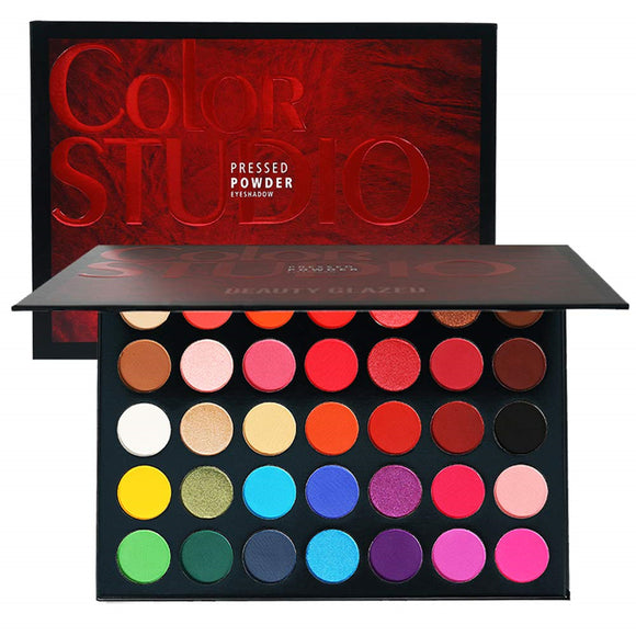 Beauty Glazed Color Studio 35 Shades Eyeshadow Makeup Palette