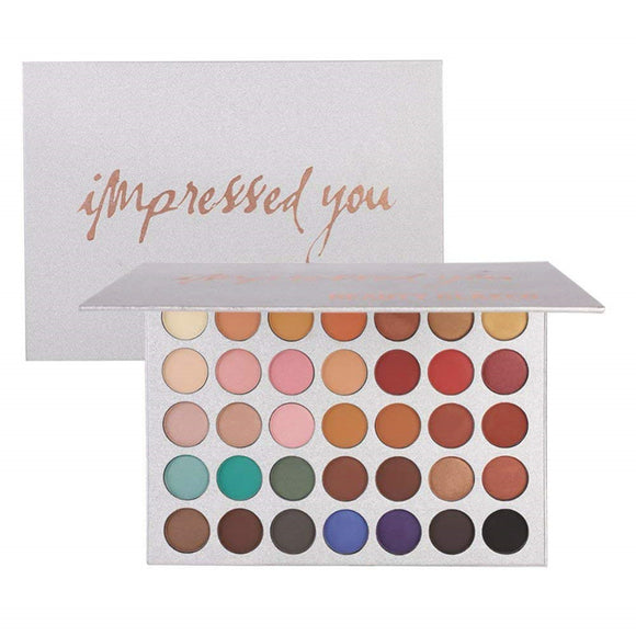 Beauty Glazed 35 Colors Shimmer Eyeshadow Shades Makeup Palette