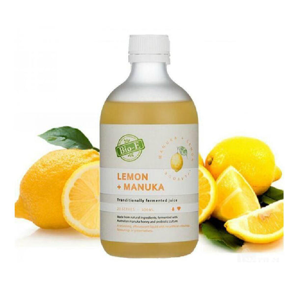 Bio-E Lemon + Manuka 500ml