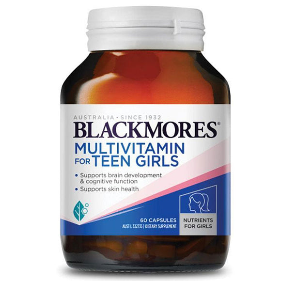 Blackmores Multivitamin for Teen Girls 60 Capsules
