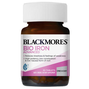 Blackmores Bio Iron Advanced - 30 Tablets